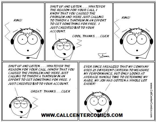 call-center-cartoon-100-aht aht cartoon
