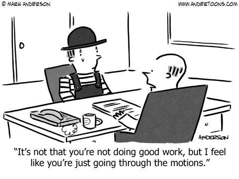 cartoon6760 customer service joke re agent performance