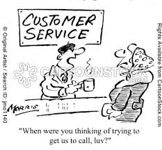great customer service cartoon