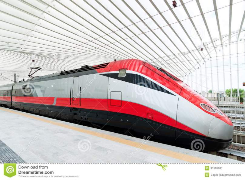 FAST TRAIN IN ITALY